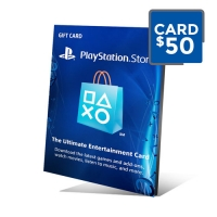 PSN Card 50 - Cartão PSN 50 Doláres - Playstation Network 50