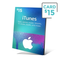 iTunes Gift Card 15 Dólares