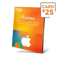iTunes Gift Card 25 Dólares