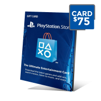 PSN Card 75 - Cartão PSN 75 Doláres - Playstation Network 75