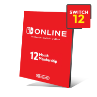 Cartão Nintendo Switch Online 12 Meses - E-shop Americana