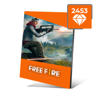 Free Fire 2453 Diamantes Garena Free Fire 2453
